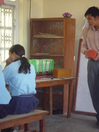 Un'ora con il laptop XO in una scuola del Nepal /img/02_normal_teaching_without_xo.jpg
