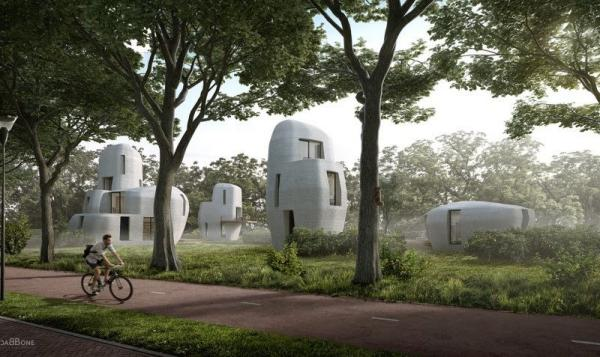 Yes, you may soon download a house. And that would be terrible /img/3dprinted-homes-in-netherlands.jpg