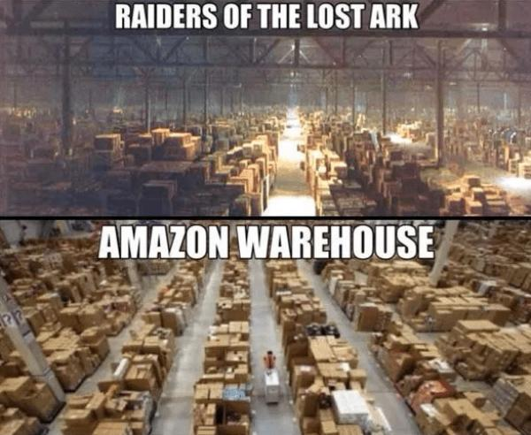 Shopping on Amazon is a blessing for rurals. For now /img/amazon-like-raiders-of-lost-ark.jpg