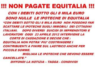 Equitalia, ipoteche sotto gli ottomila Euro e post balordi su Facebook /img/avviso_equitalia_facebook.jpg