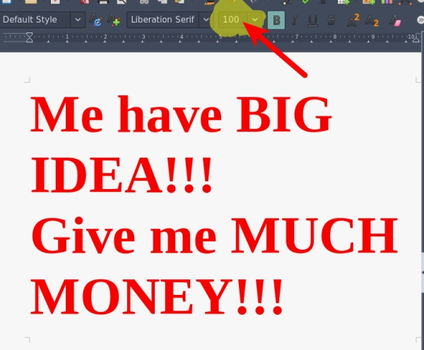 Word processing, we are doing it SO WRONG /img/big-idea-big-font.jpg