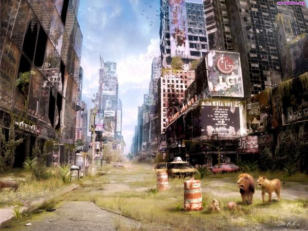 There can never be a Smart City without... /img/desert-new-york-i-am-legend.jpg