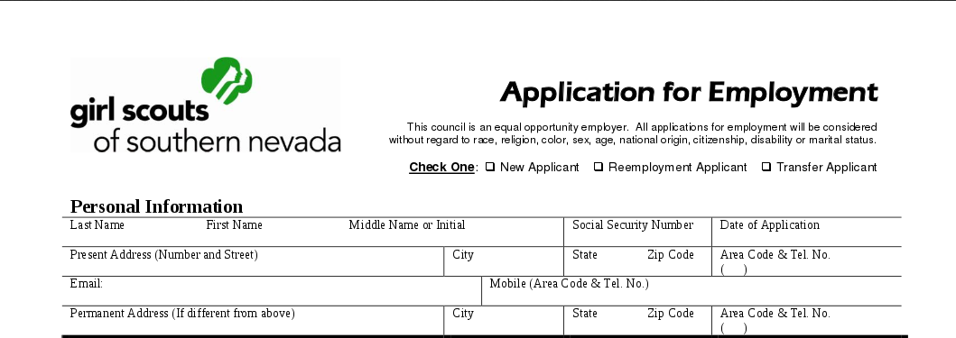 Girl Scouts, other equal opportunity employers and... software discrimination /img/girlscout_southern_nevada_application2.png