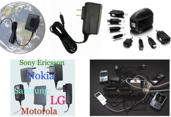 Telefonini: ecco l'accessorio che mancava, il caricatore universale /img/incompatible-cell-phone-chargers.jpg
