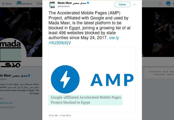 Why I do NOT like Google's Accelerated Mobile Pages (AMP) /img/mada-masr-amp-blocked-in-egypt.jpg