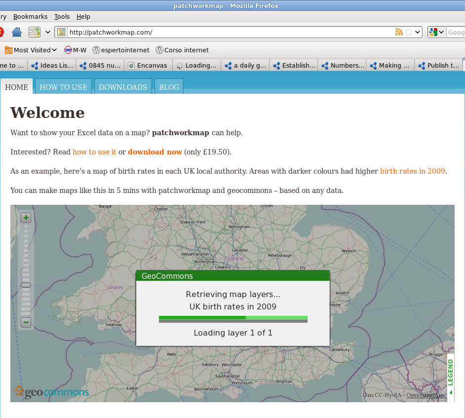 Open Data: Demographics and election support /img/patchworkmap_loading.png