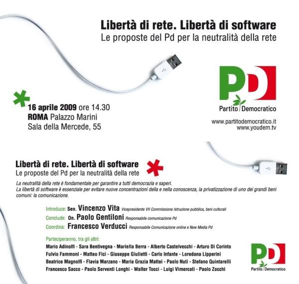 DDL su neutralità della Rete e software aperto: hmmm... /img/proposte-pd-neutralita-rete.jpg