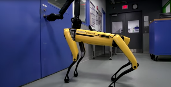 Robot dogs opening doors. Or keeping them shut? /img/robot-dog-opening-door.jpg