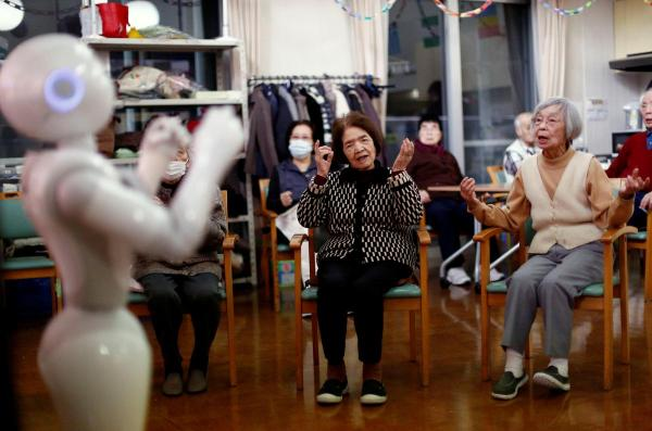 Robots caring for the elders. Or for growth? /img/robots-assisting-seniors-in-japan.jpg