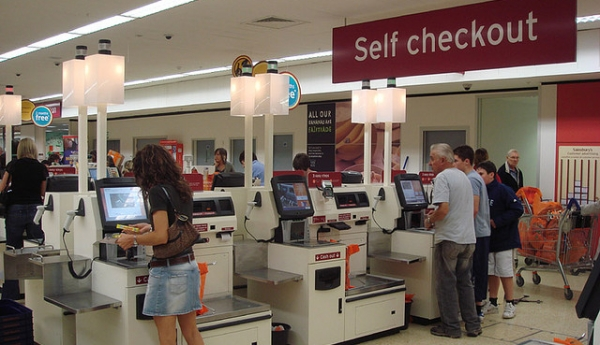 Google's new idea is a self-checkout store /img/self-checkout.jpg