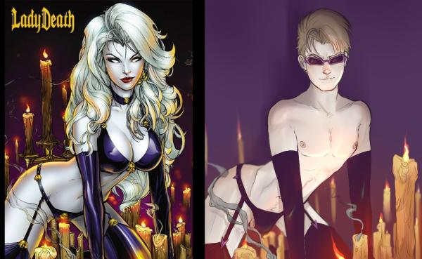 Superheroes with super riduculous sexuality /img/swap-superheroines-with-hawkeye.jpg