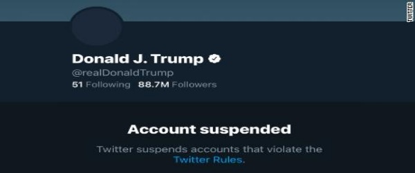 On #Trumpbanned from (one) Cuckoo Clock /img/trump-twitter-account-suspended.jpg